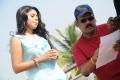 Sruthy Bala, A Venkatesh @ Romba Nallavan Da Nee Movie Working Stills