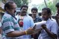 A Venkatesh, Robo Shankar @ Romba Nallavan Da Nee Movie Working Stills