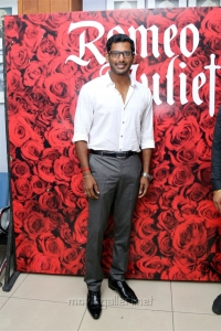 Actor Vishal @ Romeo Juliet Indian Musical Stage Show Day 2 Stills