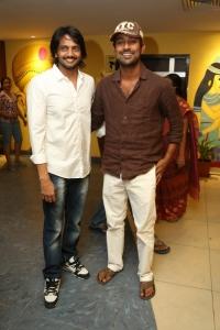 Sairam Shankar, Varun Sandesh @ Romeo Movie Premiere Show