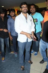 Teja @ Romeo Movie Premiere Show at Prasads Multiplex Hyderabad
