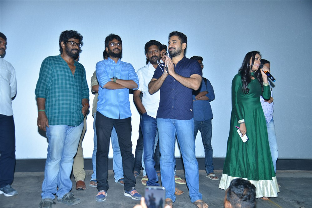Roshagadu Movie Team @ Sri Mayuri Theatre Photos