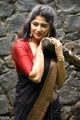 Actress Roshini Prakash Silk Saree Images @ Jada Audio Launch