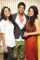 Ragina, Sandeep, Tapsee at Routine Love Story Logo Launch Photos