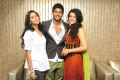 Ragina, Sandeep, Tapsee at Routine Love Story Logo Launch Stills