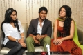 Ragina, Sandeep, Tapsee at Routine Love Story Trailer Launch Stills