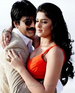 Ravi Teja, Deeksha Seth in Rowdi Raja Movie Stills
