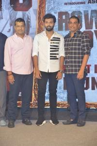 Shirish, Ashish, Dil Raju @ Rowdy Boys First Look Launch Stills