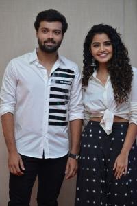 Ashish, Anupama @ Rowdy Boys First Look Launch Stills