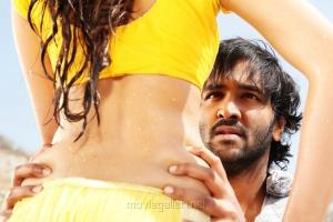 Vishnu Manchu, Shanvi Srivastava in Rowdy Movie Hot Song Stills
