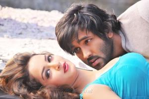 Vishnu Manchu, Shanvi Srivastava in Rowdy Nee Meeda Ottu Hot Song Stills