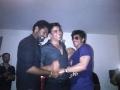 Prabhu Deva,Shahrukh Khan,Akshay Kumar at Rowdy Rathore Party Stills