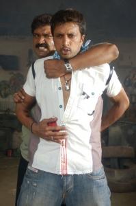 Hero Sudeep in Rowdy Simha Telugu Movie Stills