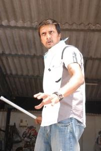 Actor Sudeep Latest Stills in Rowdy Simha Telugu Movie