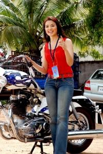 Actress Saloni Aswani in Rowdy Simha Telugu Movie Stills
