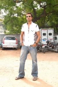 Actor Sudeep in Rowdy Simha Telugu Movie Stills