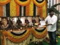 Chirajeevi @ RRR Movie Launch Stills