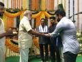 K Raghavendra Rao @ RRR Movie Launch Stills