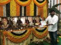Chirajeevi @ RRR Movie Launch Stills