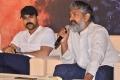 Ram Charan, SS Rajamouli @ RRR Movie Press Meet Stills