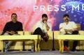 DVV Danayya, Jr NTR, Ram Charan @ RRR Movie Press Meet Stills