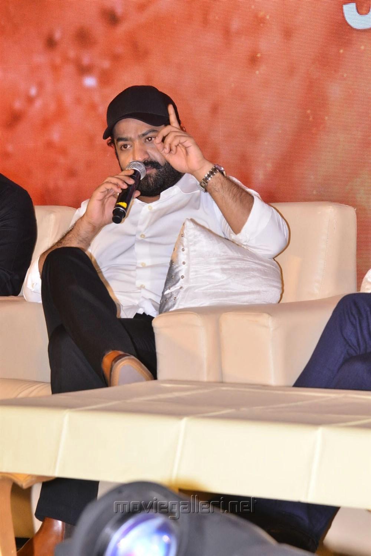 Actor Jr NTR @ RRR Movie Press Meet Stills