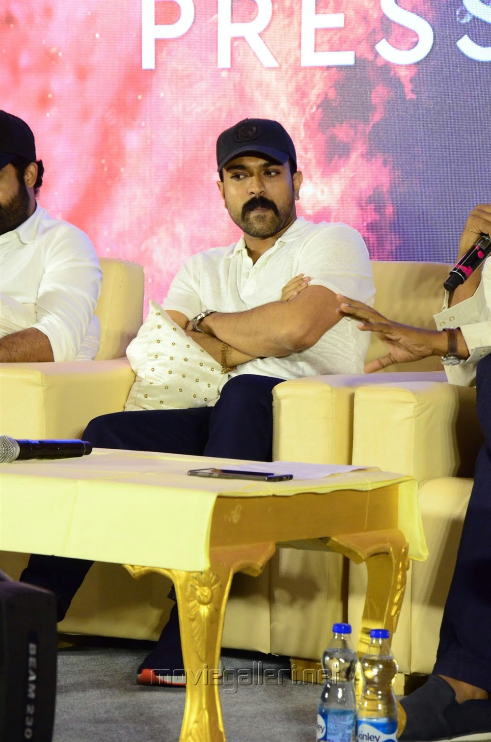 Ram Charan @ RRR Movie Press Meet Stills