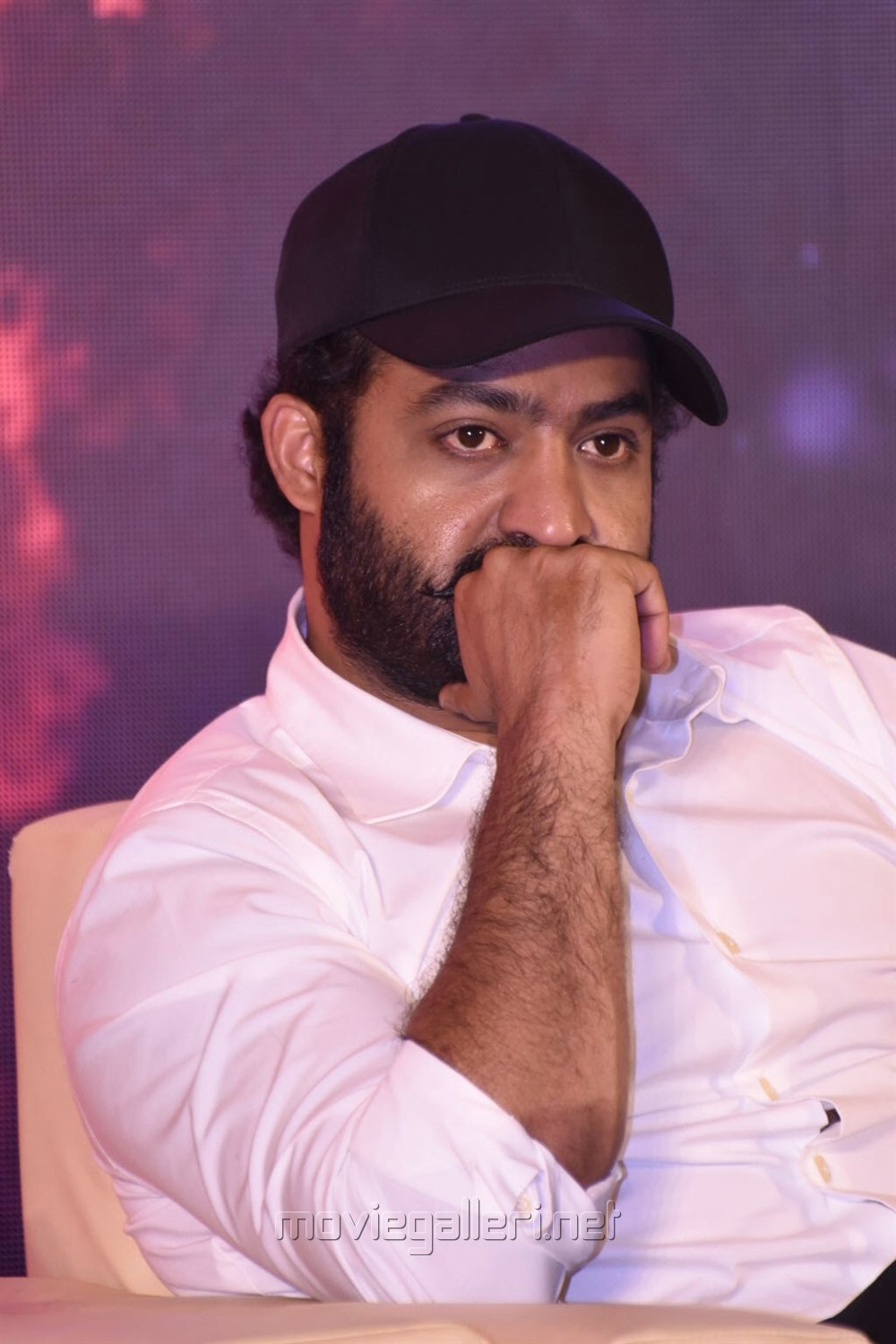 Actor Jr NTR @ RRR Movie Press Meet Stills