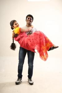 Anu Krishna, Jana in Iru Kadhal Oru Kadhai Movie Stills