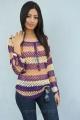 Ruby Parihar in Full Sleeve Knitted Dress