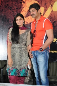 Deepsika, Jagapathi Babu at Rudhiram Movie Press Meet Stills