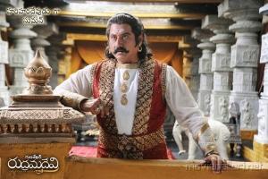 Suman as Hari Hara Devudu in Rudrama Devi Latest Posters