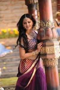 Actress Anushka Images in Rudramadevi Movie