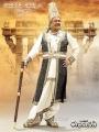 Krishnam Raju as Ganapathi Deva Chakravarthy in Rudramadevi Movie Posters