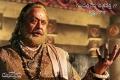 "Krishnam Raju as Kakatiya Kingdom's Emperor ""Ganapathi Deva Chakravarthy"" in Rudramadevi Movie"