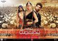 Anushka, Allu Arjun, Rana Daggubati in Rudramadevi Movie Release Posters