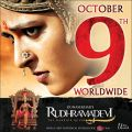 Actress Anushka's Rudramadevi Movie Release Posters