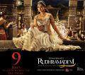 Actress Anushka Shetty's Rudramadevi Movie Release Posters