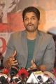 Allu Arjun @ Rudramadevi Release Date Press Meet Stills