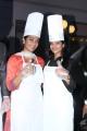 Gayathrie Shankar, Iyshwarya Rajesh @ Cake Mixing in Hotel Green Park Stills