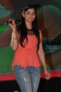 Singer Chinmayi @ Run Raja Run Movie Audio Launch Stills
