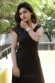 Actress Priyanka in Black Dress Hot Photos at Runam Movie Press Meet