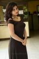 Priyanka in Black Dress at Runam Movie Muhurat