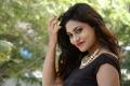 Runam Movie Actress Priyanka in Black Dress Photos