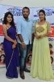 Priyanka Augustin, Teja Reddy @ Runam Movie Team @ Jawed Habib Salon Launch in SR Nagar Photos