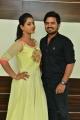 Teja Reddy, Gopi Krishna @ Runam Movie Team @ Jawed Habib Salon Launch in SR Nagar Photos