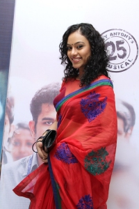 Rupa Manjari Hot in Saree Pics at Naan Audio Release