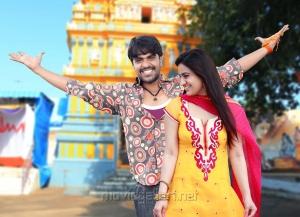 Srinivas, Aksha Pardasany in Rye Rye Telugu Movie Stills