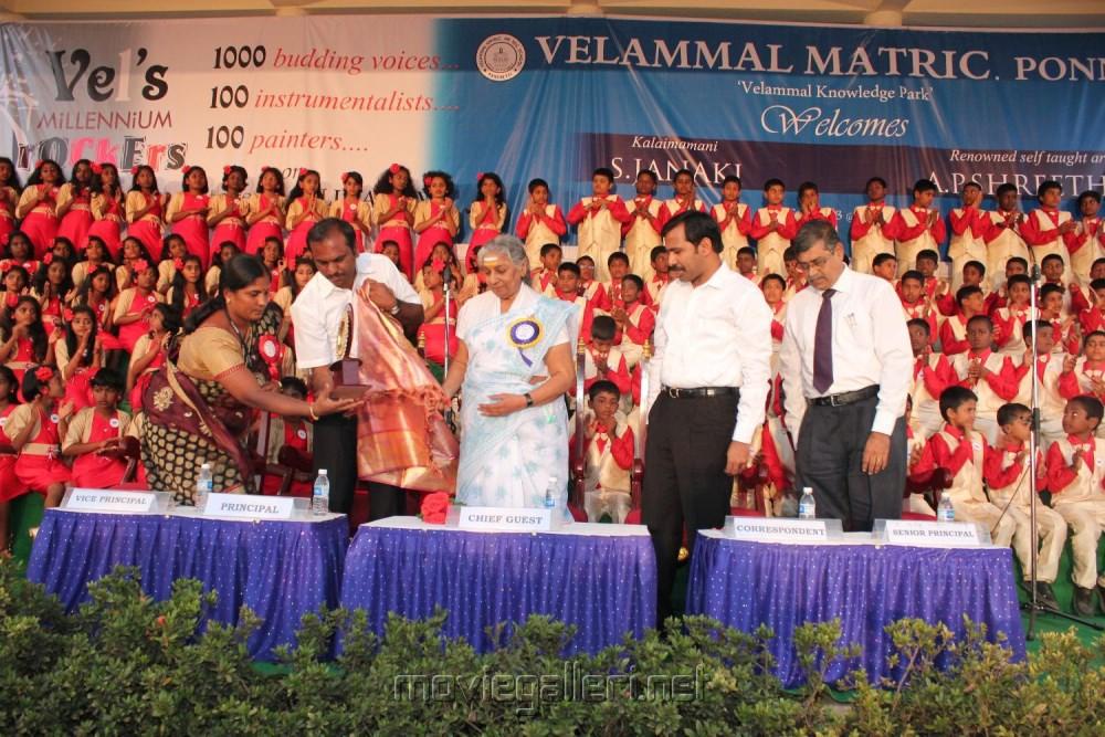 Velammal Matriculation Higher Sec School in Ponneri, Chennai [ Gallery ...