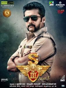Actor Suriya in S3 Yamudu 3 Movie Posters